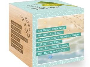 Voetstappen in het zand, groeikubus, jiftach, groeien, liefsvanlauren.nl