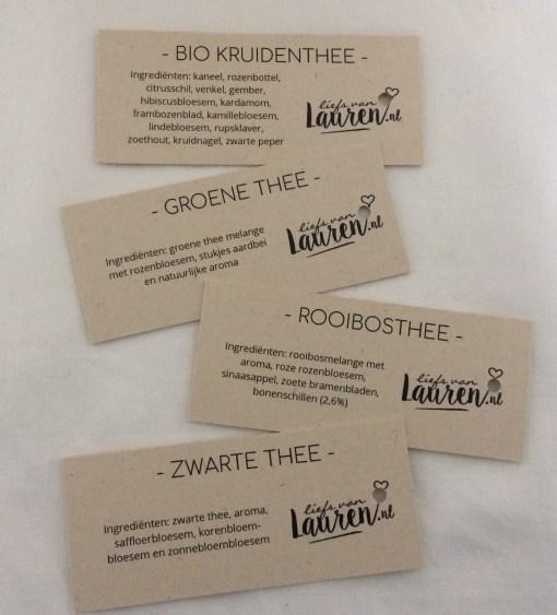 Thee wens, 4 smaken, warme groet, kopje troost, liefsvanlauren.nl