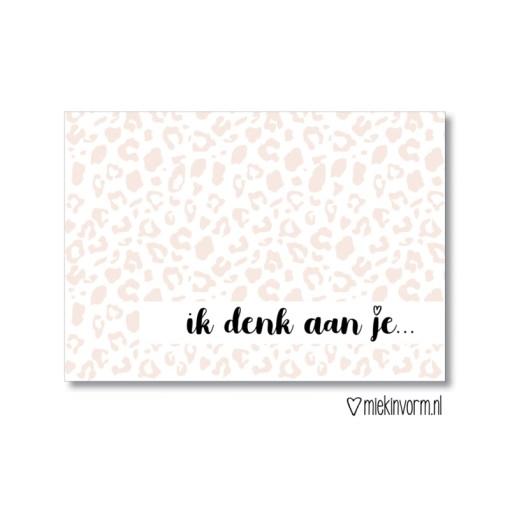 ik denk aan je kaart, miekinvorm, liefsvanlauren.nl