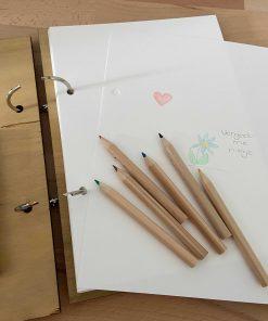 inhoud invulboekje hout, troost boekje, herinneringsboekje, liefsvanlauren.nl