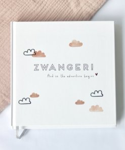 Zwangerschapsdagboek wolk, Huisje no56, zwangerschapsboek, liefsvanlauren.nl