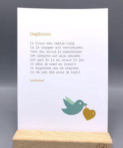 gedicht dagdroom, lentezoet gedicht, gedicht over hoop en moed, liefsvanlauren.nl
