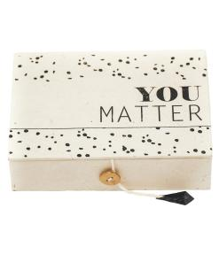 you matter box, return to sender, fair trade, feel good, liefsvanlauren.nl