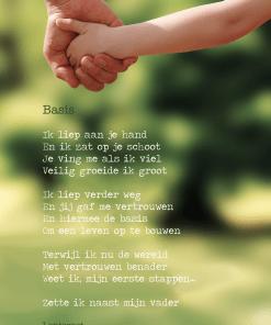 gedicht basis, vaderdag, vaders, lentezoet, liefsvanlauren.nl