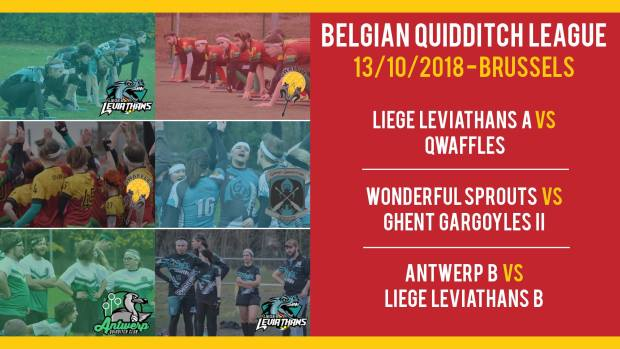 Belgian Quidditch League - DAY 1