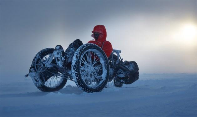 Mit dem Fahrrad zum Südpol
