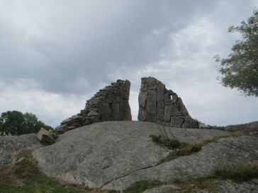 Zweden,Tjörn,Pilane,expositie,beelden