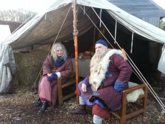 Vikingen, Zweedse kerstmarkt 2014, Slochteren