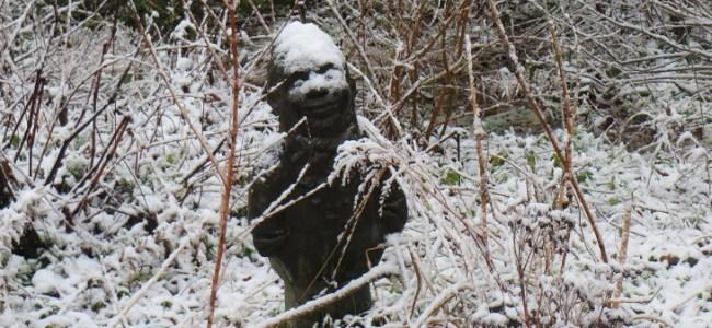 sneeuw,januari 2015,tuinkabouter,Gorredijk
