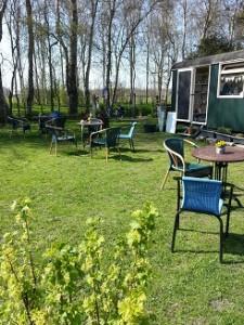 theetuin Tijnje,fietsen,voorjaar,Friesland,ontdekking
