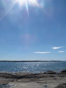 Zweden,Tjörn,Berga,strandje,zee,zon