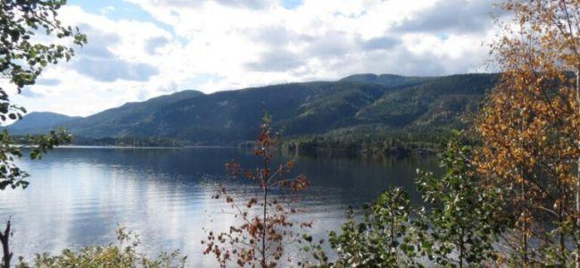 Noorwegen,onderweg,herfstkleuren,meer,2015