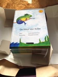 De kleur van Kobe,Verwonderfabels,Jacob Jan Voerman,Margreet Joosen,2015