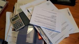 belasting,aangifte,2015,digitaal,blauwe envelop,puinhoop