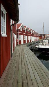 Zweden,Tjörn,Bleket,sjöbodar,huisjes,zee,mei,2016
