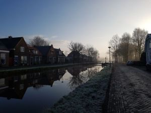 Friesland in de sneeuw, december'17