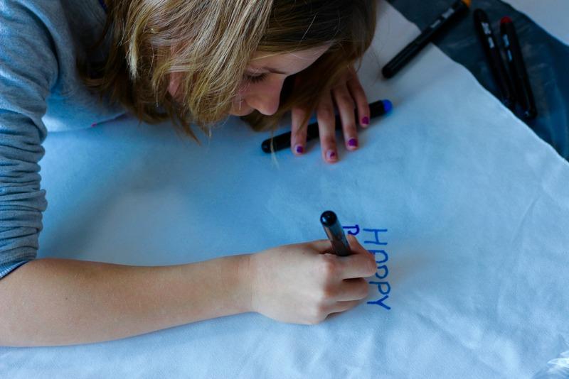 DIY Textielstiften Kussens maken