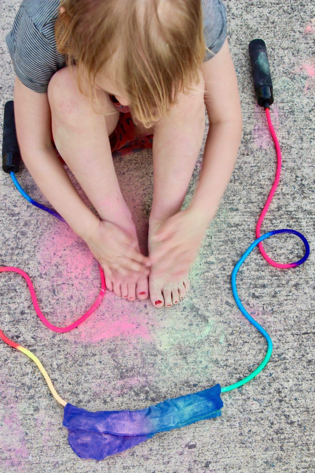 buitenspelen chalktivity