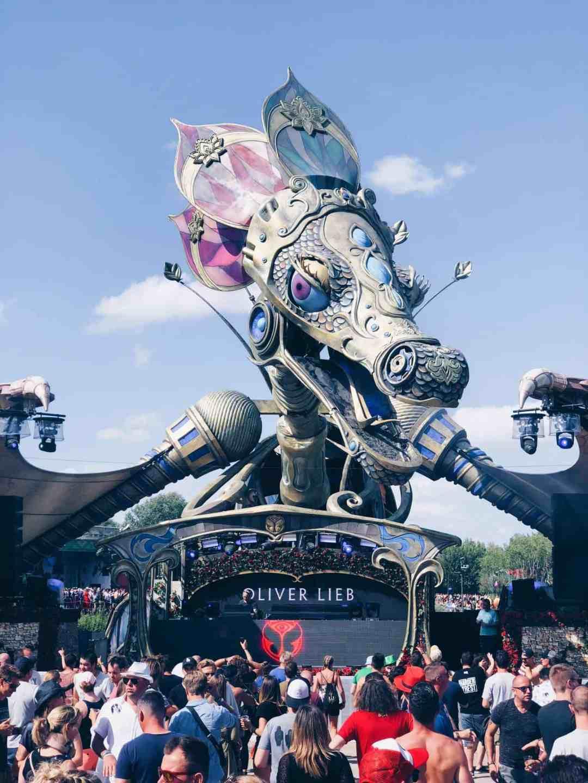 Zwanger naar Tomorrowland