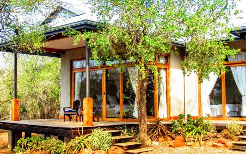 cbumbi bush house zuid-afrika accomodatie
