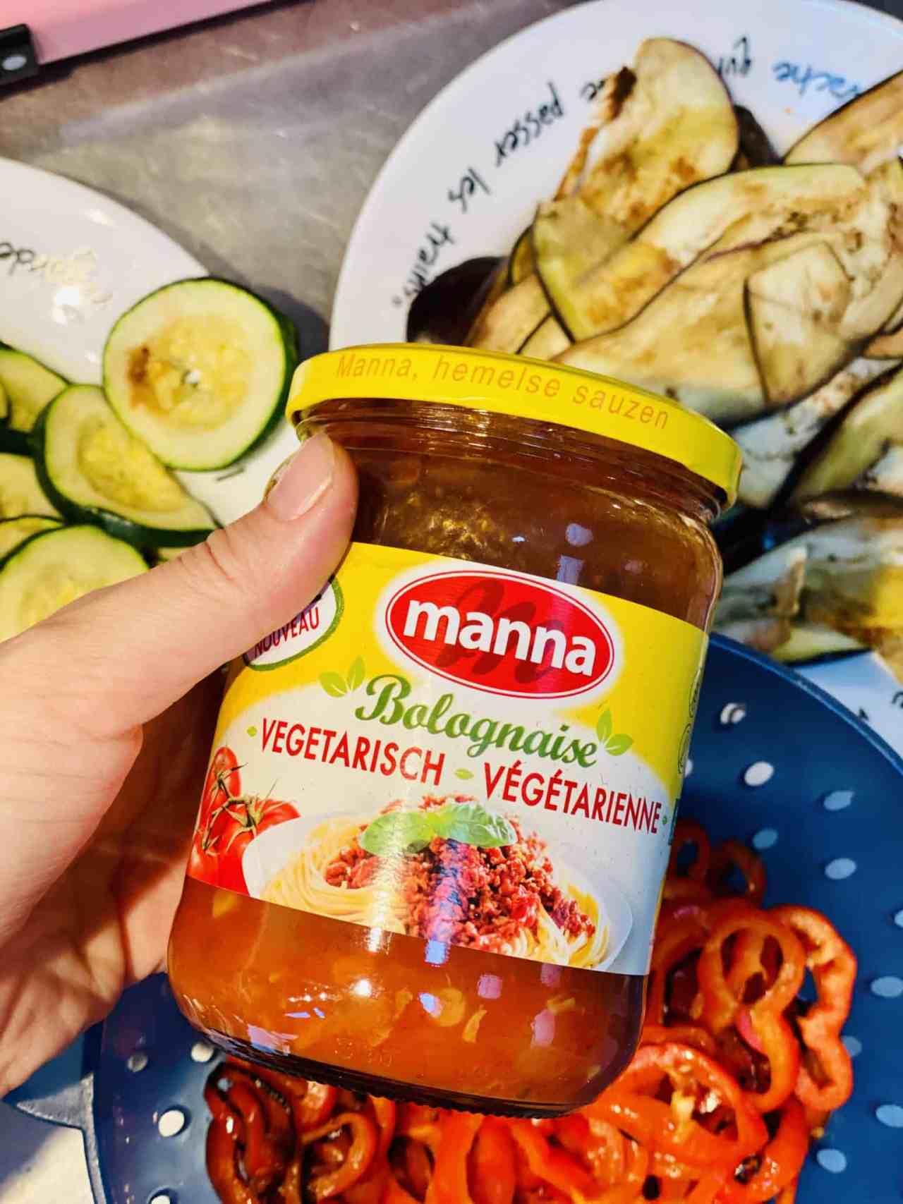 manna vegetarische bolognaise