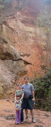 2005 metais Providence Canyon, Georgia.