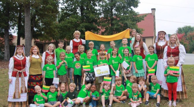 Registration Open for 2018-2018 Atlanta's Lithuanian School Saulė