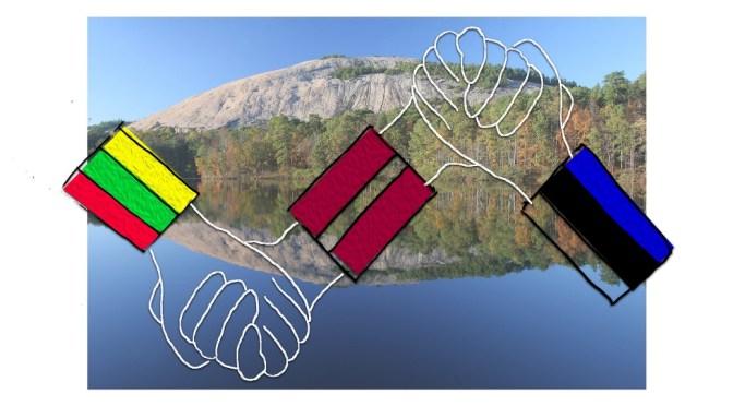 30th anniversary of the Baltic Way in Atlanta