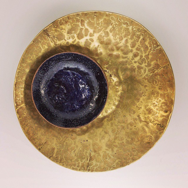 Hand hammered bowls