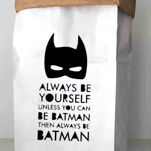 Paperbag batman