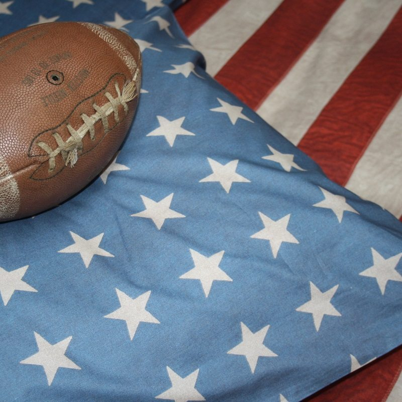 Dekbedovertrek amerikaanse vlag van town and country
