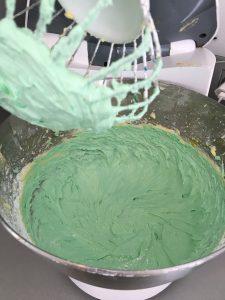 Romige botercreme groen