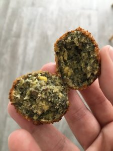 vegetarische linzen balletjes LIEVELYNE mealprep