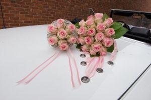 Bruidsboeket bloemen lelyveld Maasmechelen - Lievelyne