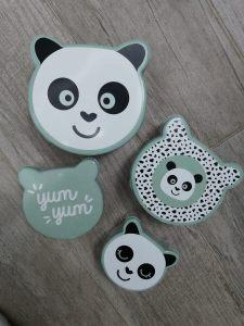 Panda doosjes voor koekjes Wibra