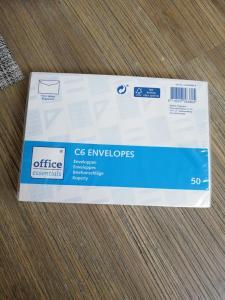 c6 envelopes Action shoplog 2019