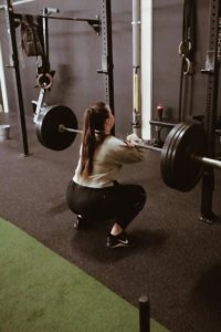 Frontsquats CrossFit ervaring LIEVELYNE