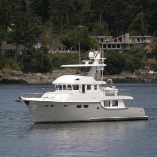 yacht nordhavn n60 ocean trawler