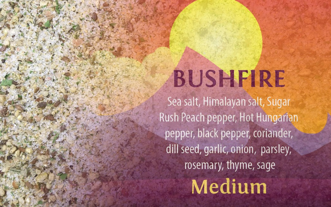 BUSHFIRE Medium Hot Salt