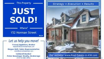 Just Sold! Norman Street in Uptown Waterloo