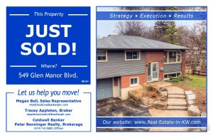 549 Glen Manor - Just sold