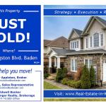 Just Sold in Baden!