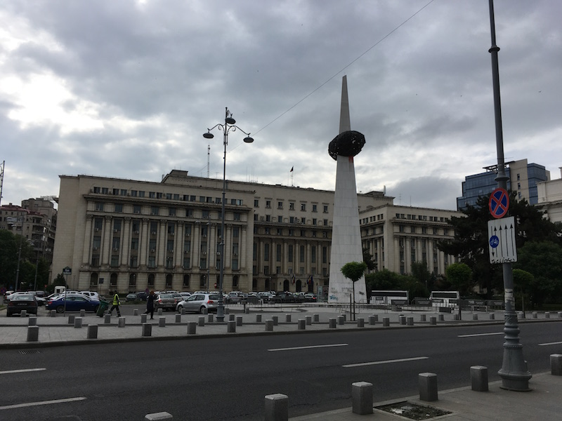 Bukarest Platz der Revolution