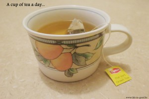 a cup of tea a day