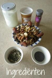 ingrediënten paleo muesli