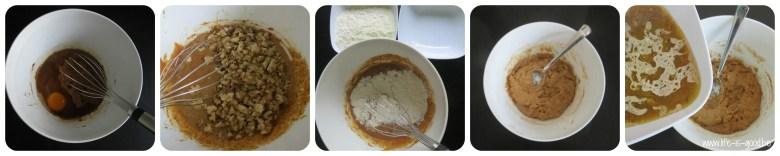 recept voor cake met dadels en walnoten