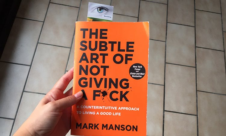 De edele kunst van het Not Giving a fuck (The Subtle Art of not giving a fuck) boek review