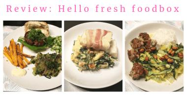 Hello Fresh Foodbox review