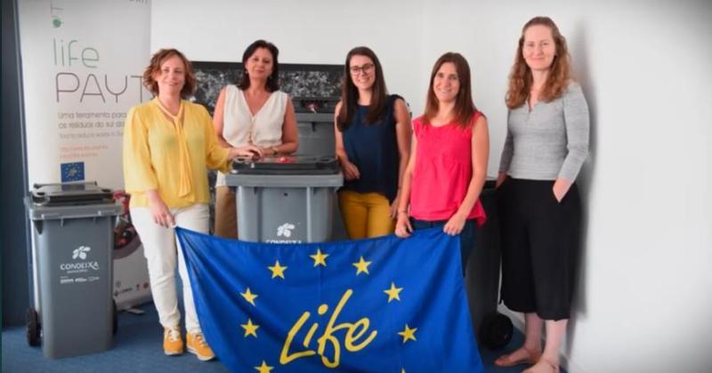Projeto LIFE PAYT é apresentado em reportagem especial do LIFE Portugal