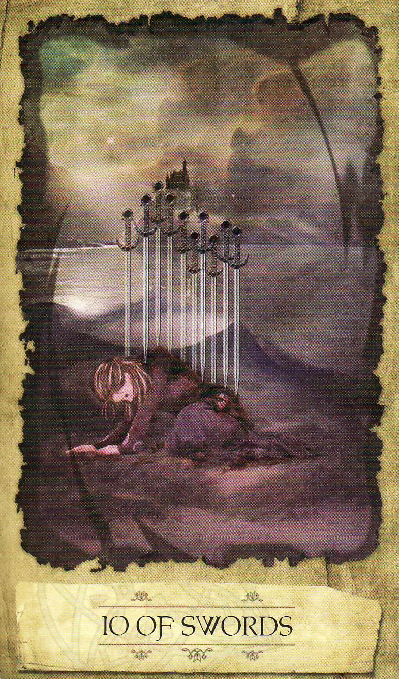Tarot Decoder Interpret The Symbols Of The Tarot And: Dream Decoding: Stabbed In The Back